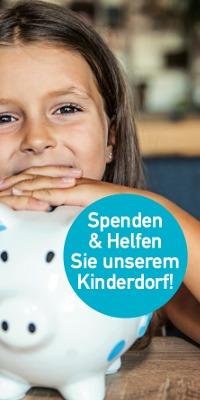 Kinderdorf Spenden Flyer
